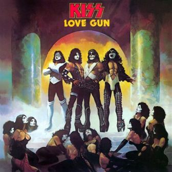 "KISS' 1977 album, ""Love Gun,"" which features the hit single of the same name and was the final KISS record to include every founding member"